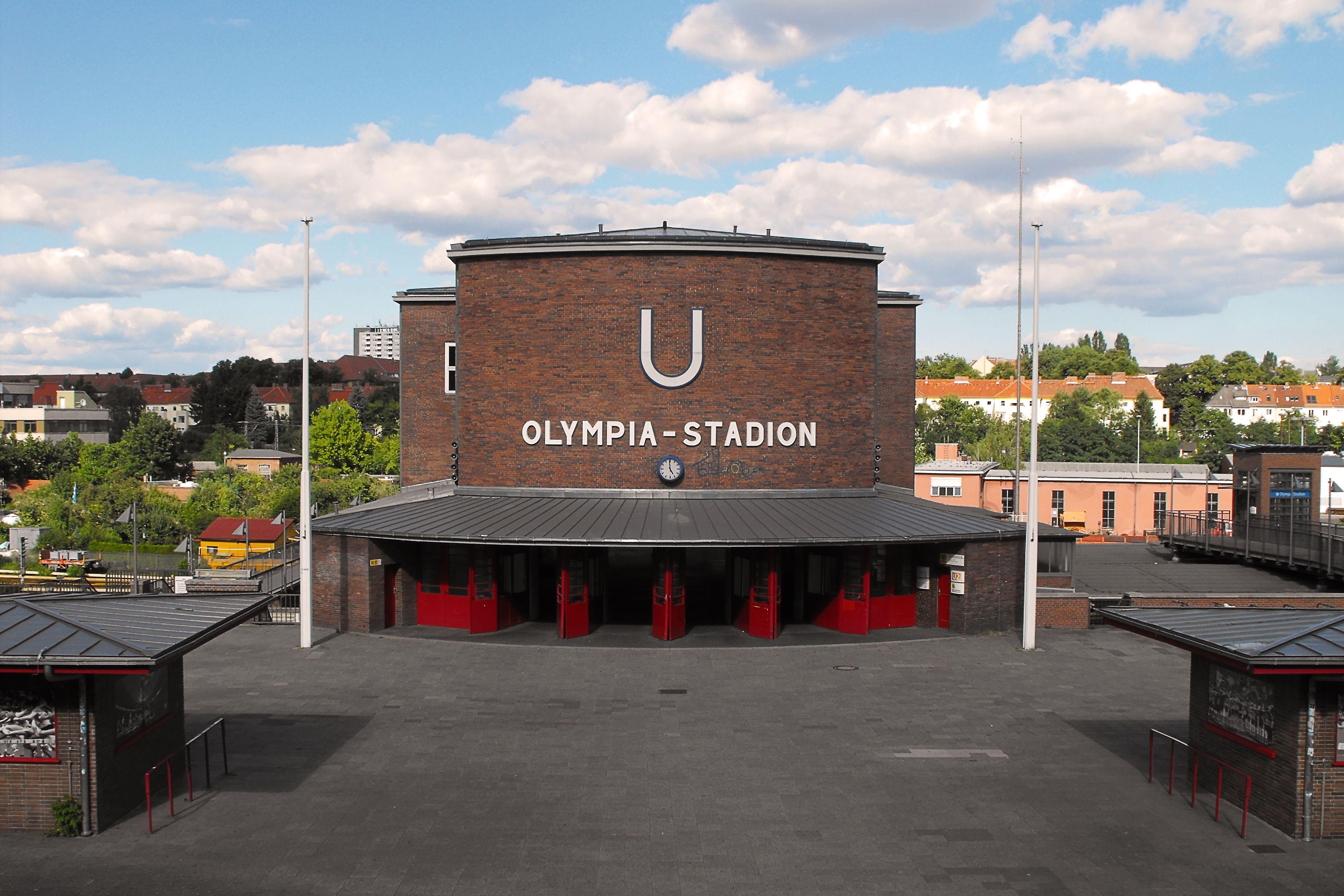 U-Bahnhof Olympiastadion, Berlin