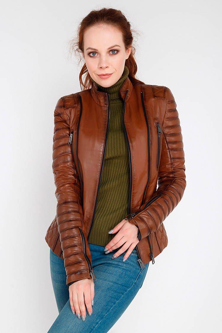 коллинз куртки женские из натуральной кожи