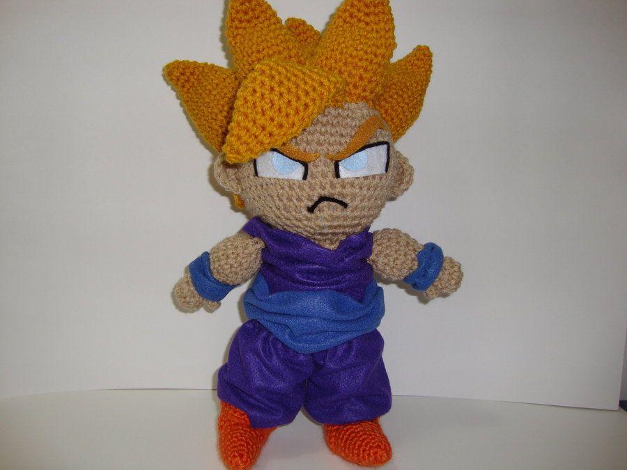 Amigurumi Doll Anime : Monkey d luffy one piece amigurumi pdf pattern crochet