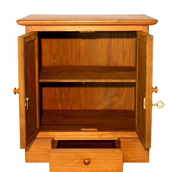 Small Deluxe Storage With Lock Oak 2015 Amazon Top Rated Storage