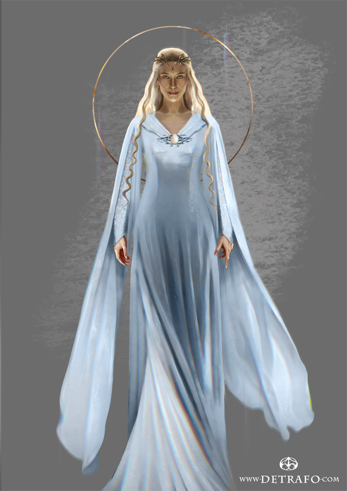 Companion portrait to the earlier one of Finrod The Vanyar are ...