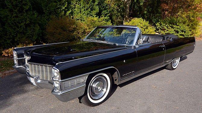 1965 Cadillac Eldorado Convertible Triple Black 429 C I