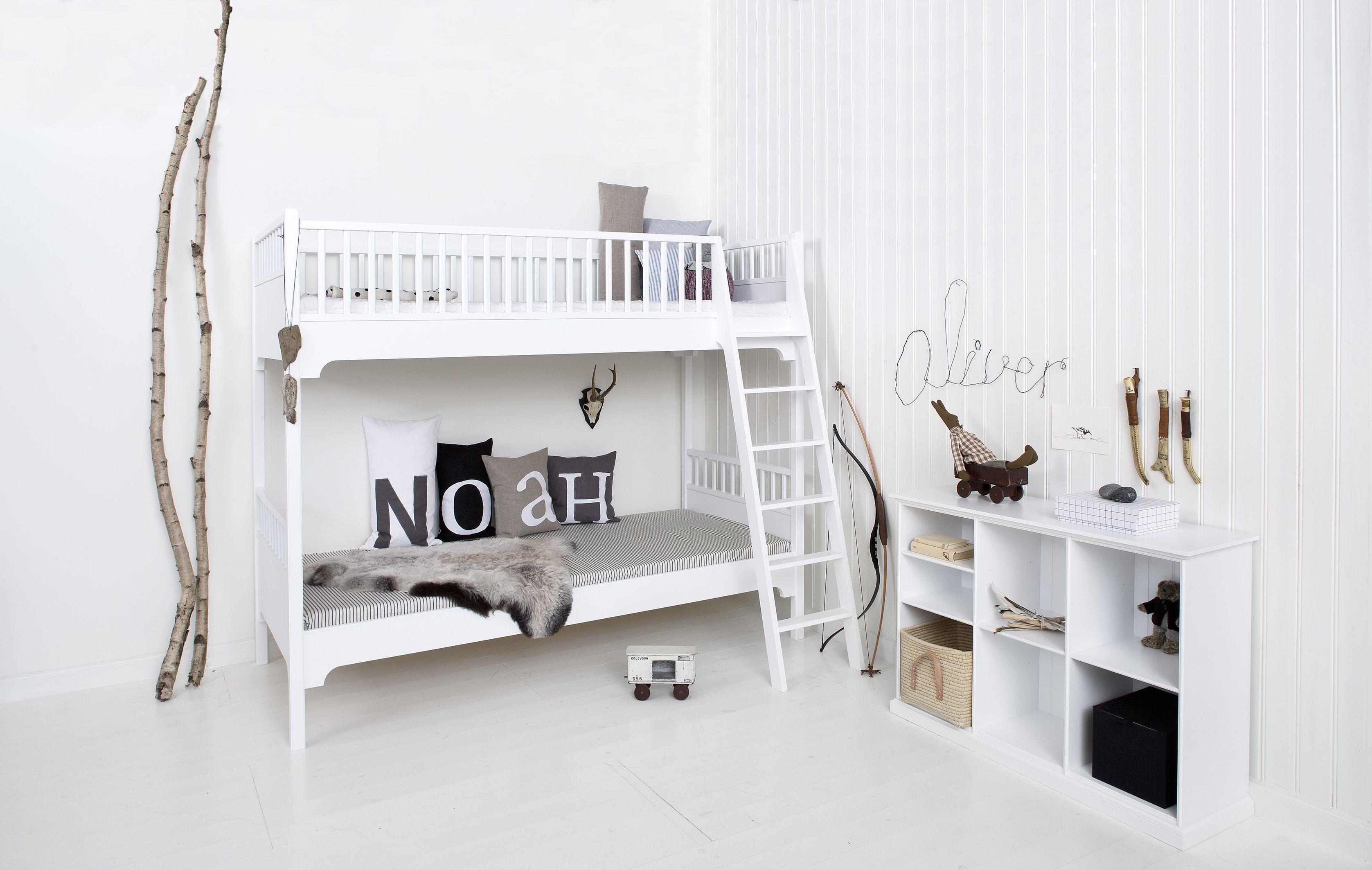 Loft bed boy room ideas  Bunk bed from Oliver Furniture  Danish Design ZIEZOO
