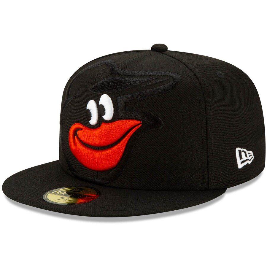 Men's Baltimore Orioles New Era Black Logo Elements