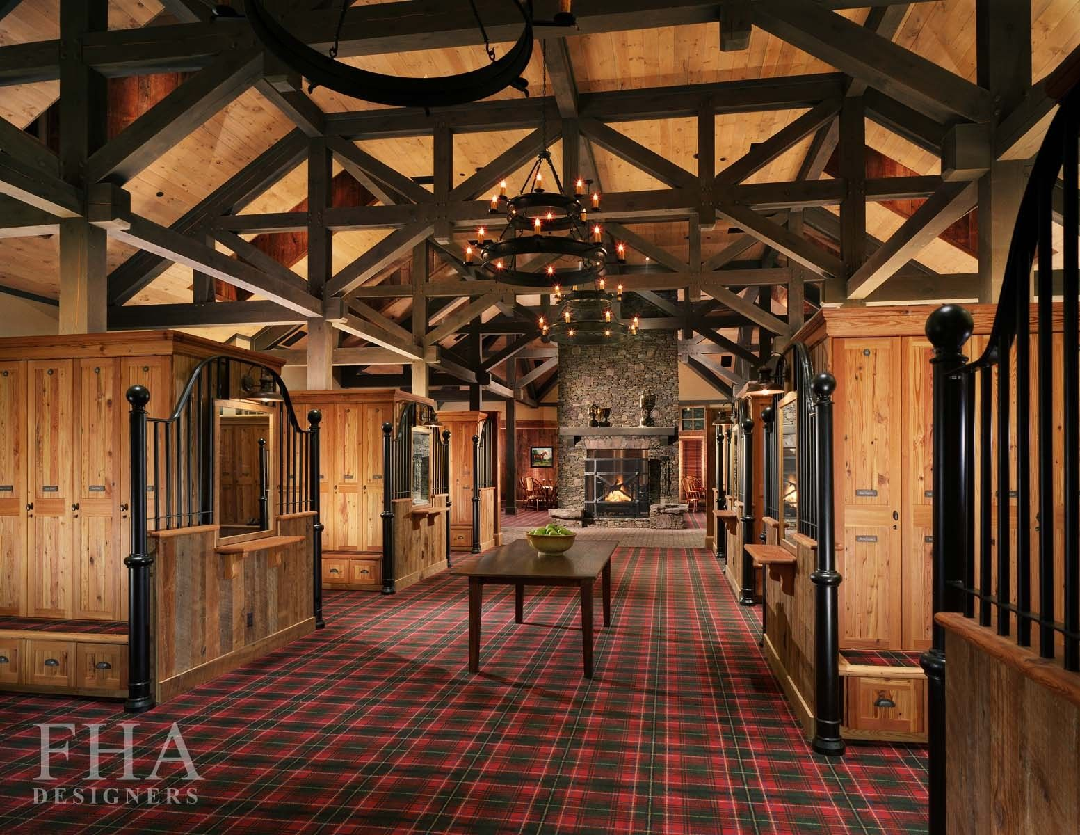 converted horse stable locker room of forest creek golf course in nc rh pinterest com