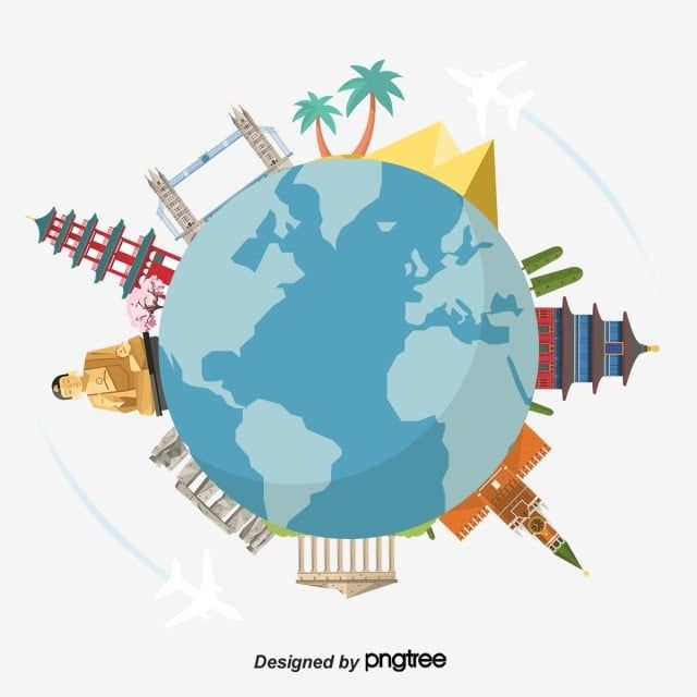 World Travel Clip Art