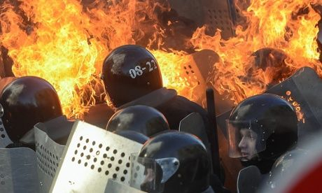 ~ Deadly Kiev Clashes as Riot Police and Anti-Government Forces Collide in Violence | Common Dreams