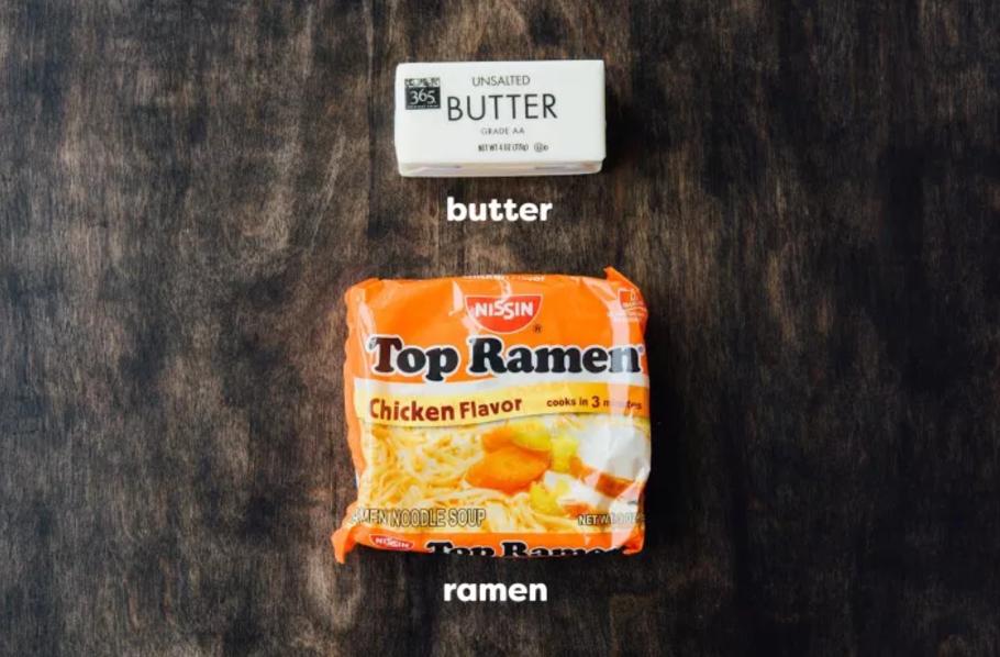 12 Food Hacks We Know Actually Work Because We Tried Them Ramen Hacks Top Ramen Top Ramen Noodles