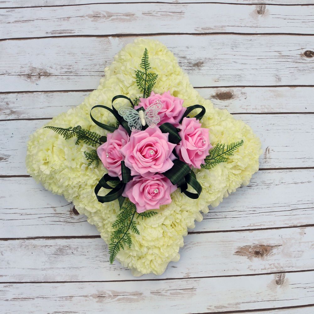 Artificial Silk Funeral Flowers Memorial Grave Tributes Personalised