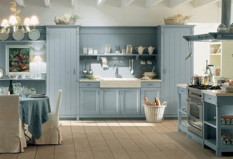 cucina country chic english mood minacciolo | Kitchens | Blue home ...