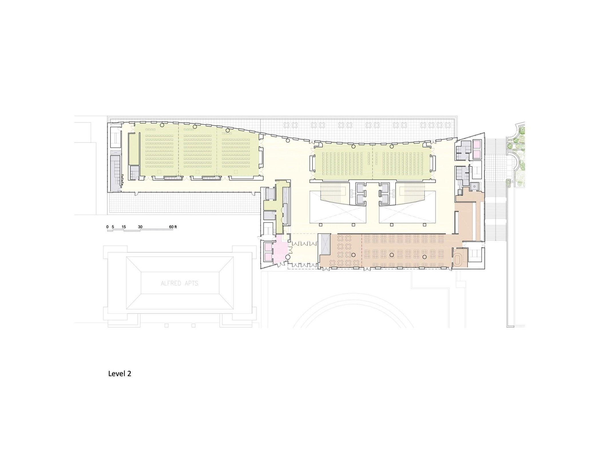 New Fordham Law School Pei Cobb Freed Partners Arch2o Com Law School Free Floor Plans Architecture