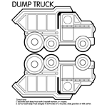 crayola coloring pages star wars | Coloring Pages | crayola.com dump truck box | Train ...