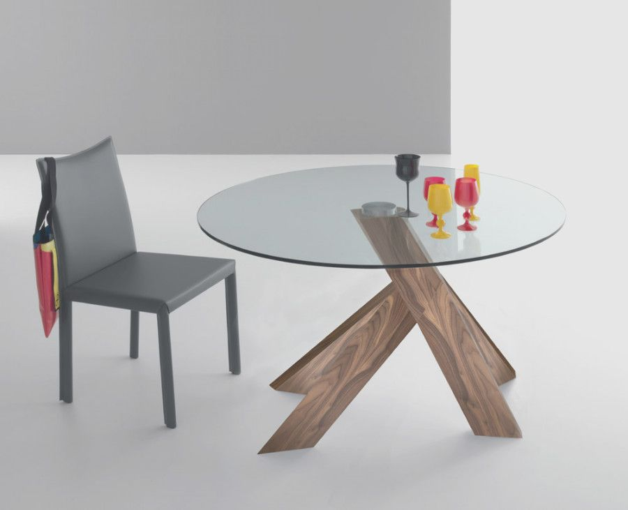 Unique Glass And Wood Dining Table And Chairs Dengan Gambar