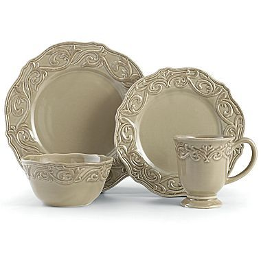 Dinnerware Chris Madden® Corvella - jcpenney  sc 1 st  Pinterest & Dinnerware Chris Madden® Corvella - jcpenney | There\u0027s No Place ...