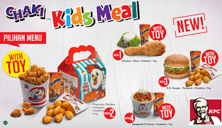 Paket Chaki Kfc Kfc Kids Meal Toy Harga Chaki Kids Meal Chaki Kids
