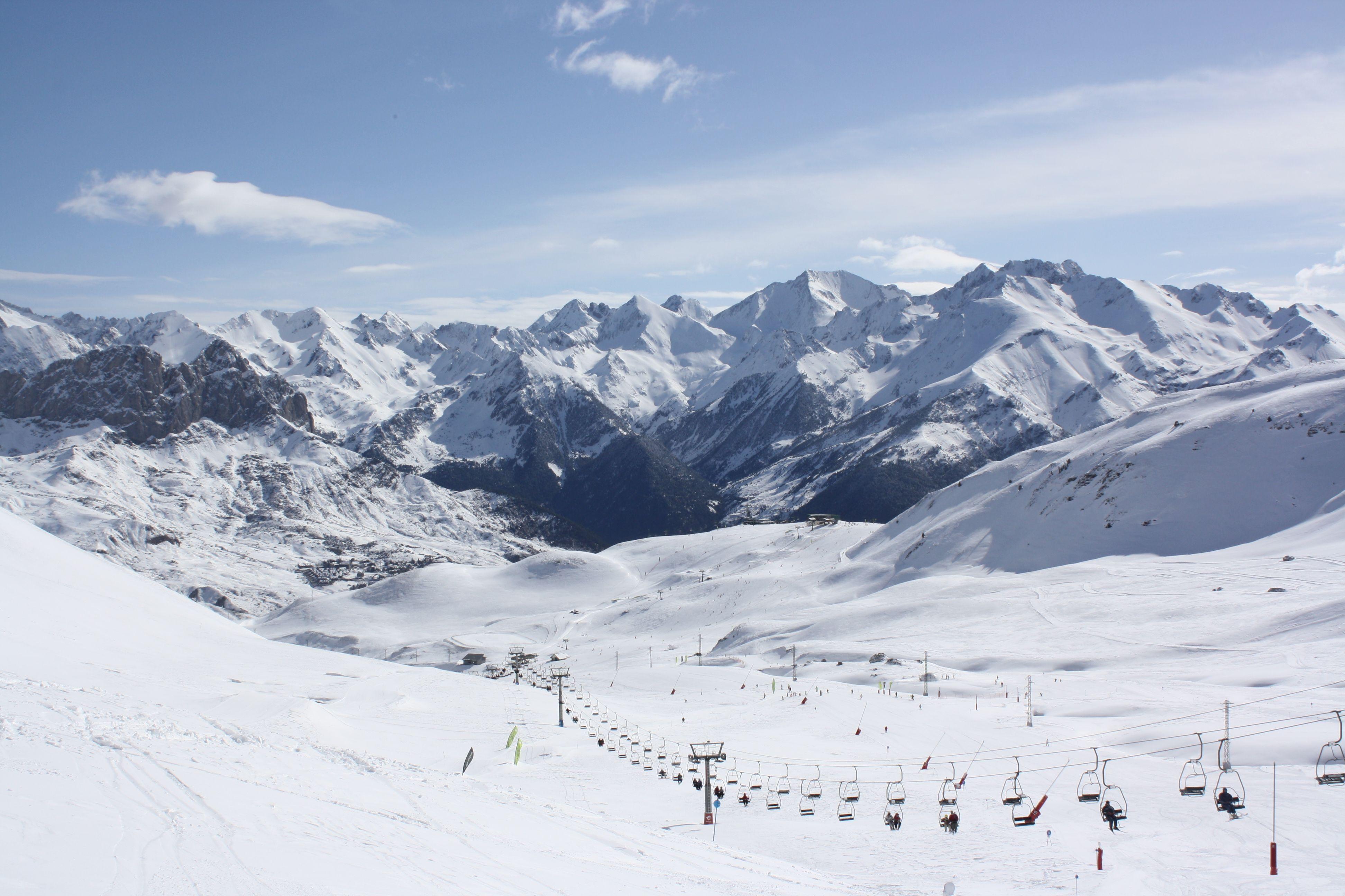 Esquí En Formigal Valle De Tena Pirineos Estaciones De Esqui Valle Esquí