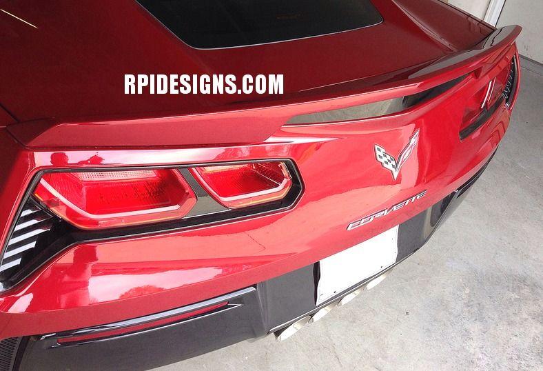 C7 Corvette Painted Z51 Rear Spoiler Blade Style Corvette Corvette Stingray Stingray