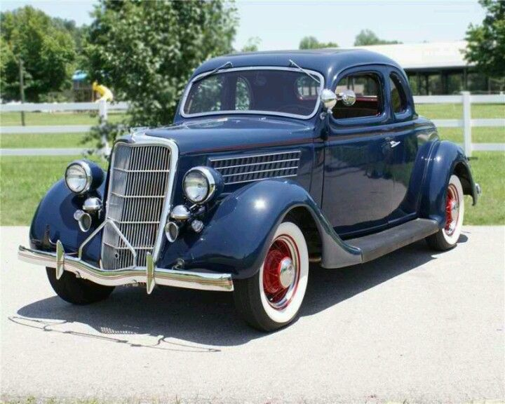 1935 Ford 5 Window Coupe 1931 To 1940 Carz Pinterest