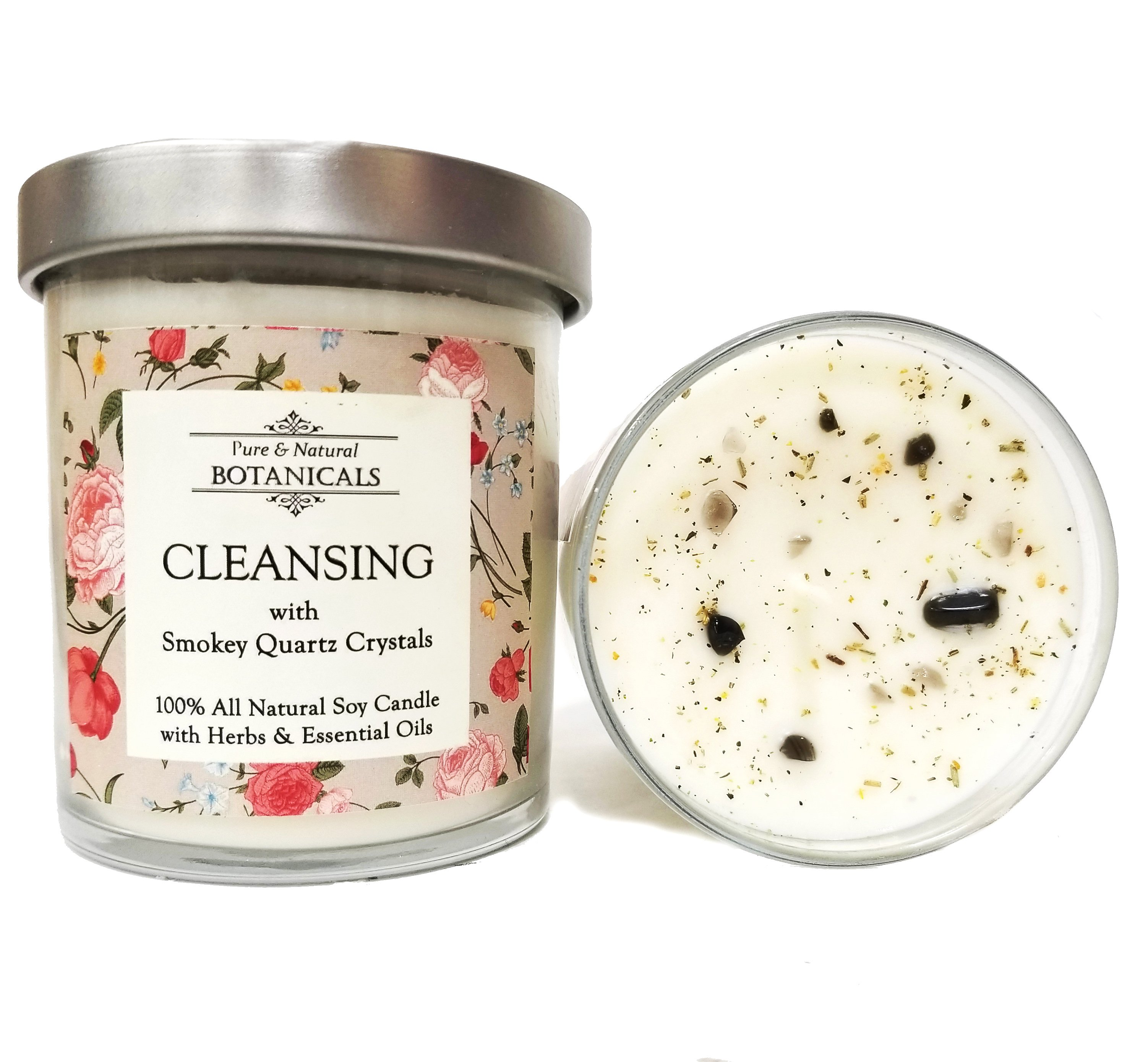 Cleansing pure natural soy candle 100 natural with