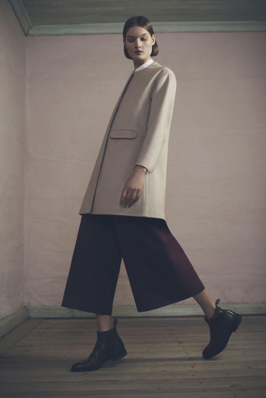 Livia Coat, Shirly Shirt and Carine Trousers | Samuji Pre-Fall 2015 Collection