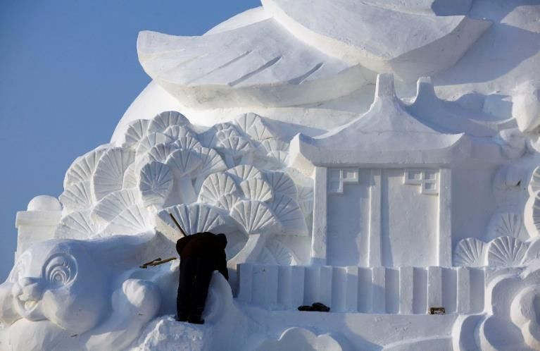 Janvier 2011, Harbin, Chine (© ©David Gray/Reuters)