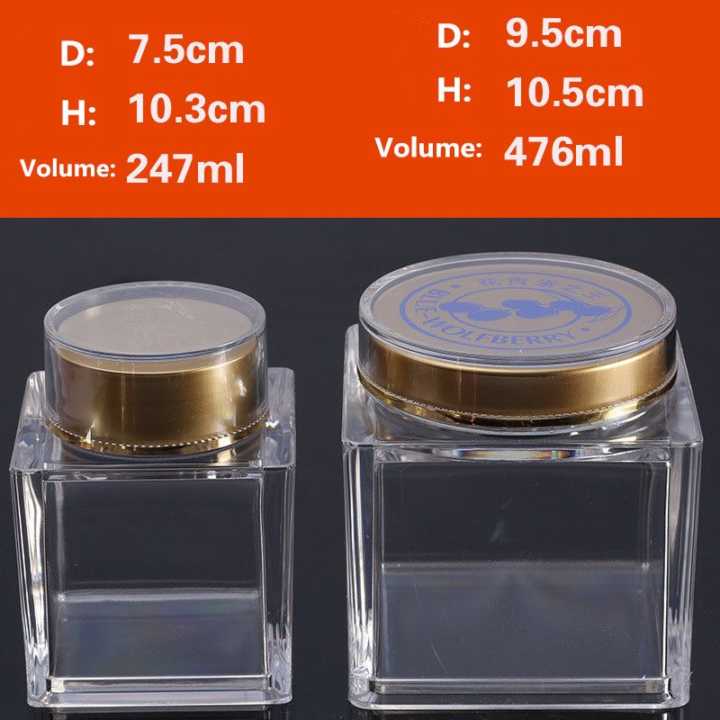 ChocolateSweetHerbCoffeefood storage container clear square