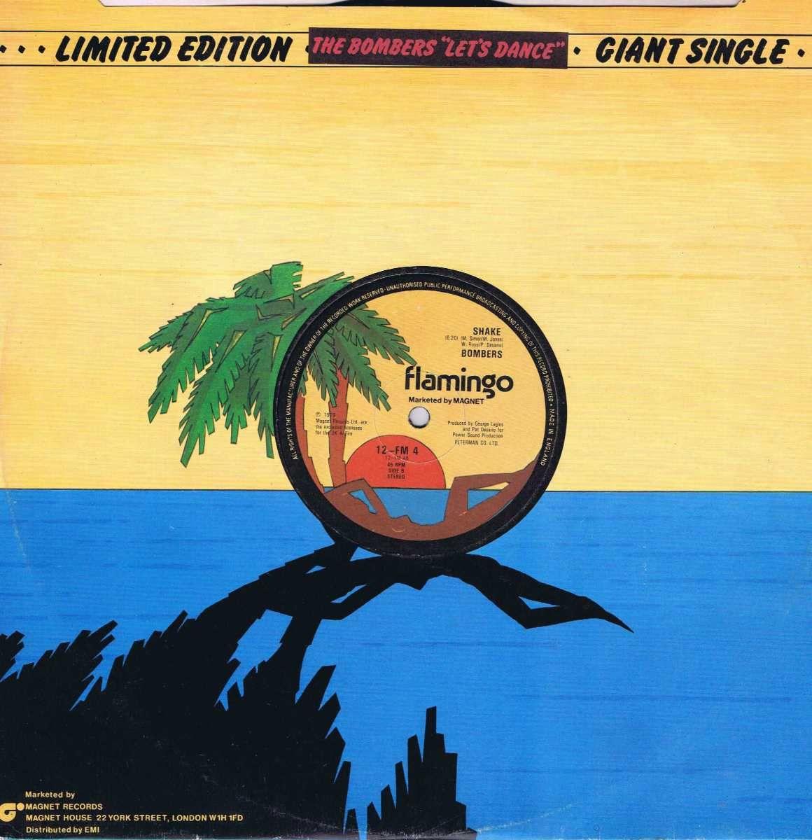 Bombers Let S Dance Shake 12 Fm 4 12 Inch Vinyl