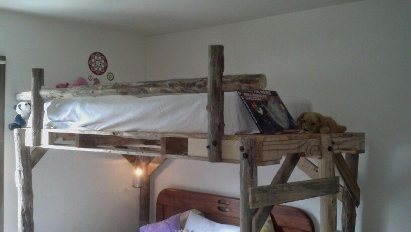 Loft And Bunk Beds Made To Order Cedar Posts Great For Kids Rooms