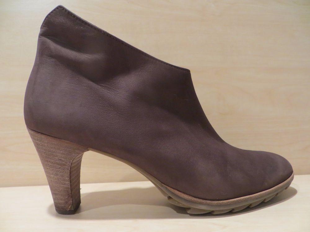 harmonische Farben Großbritannien Für Original auswählen Paul Green Munchen Brown Side Zip Heeled Women's Ankle ...