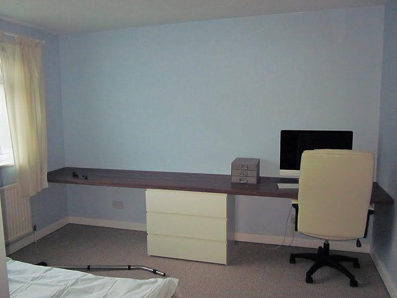 Kitchen Worktop Desk Ikea Hackers Home Ikea Worktop Small Home Offices