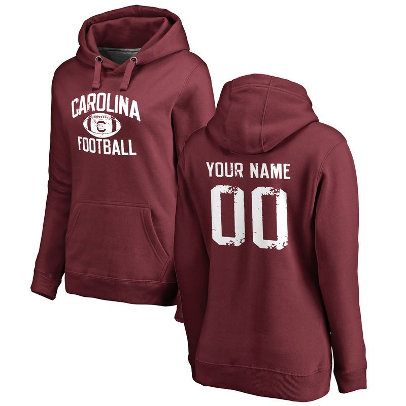 Gamecocks Custom Personalized Name /& Number Adult Jersey Hooded Sweatshirt