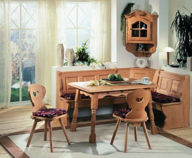 Small Corner Booth Kitchen Table Idea