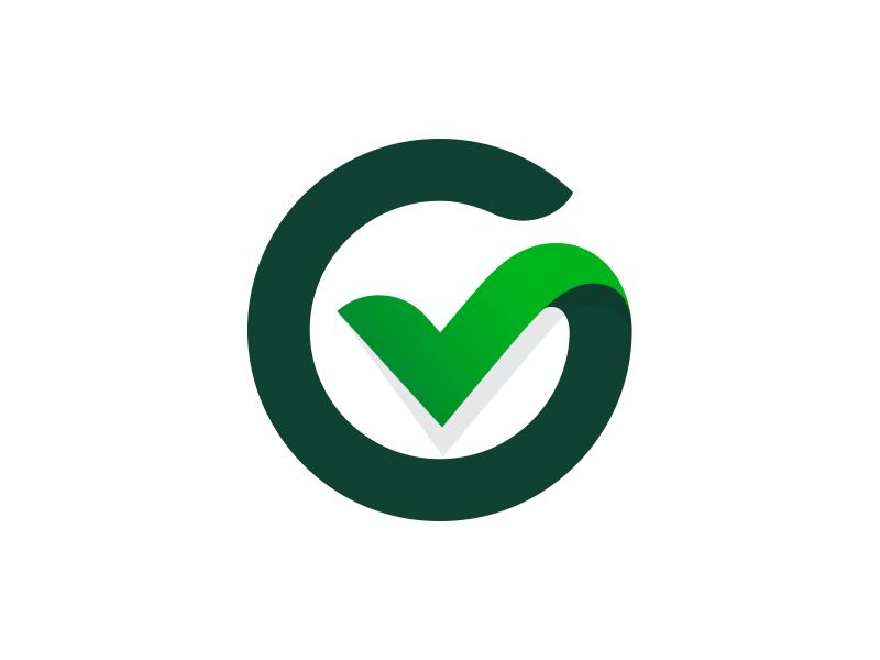 G Check Mark G Logo Design Logos Branding Design Logo