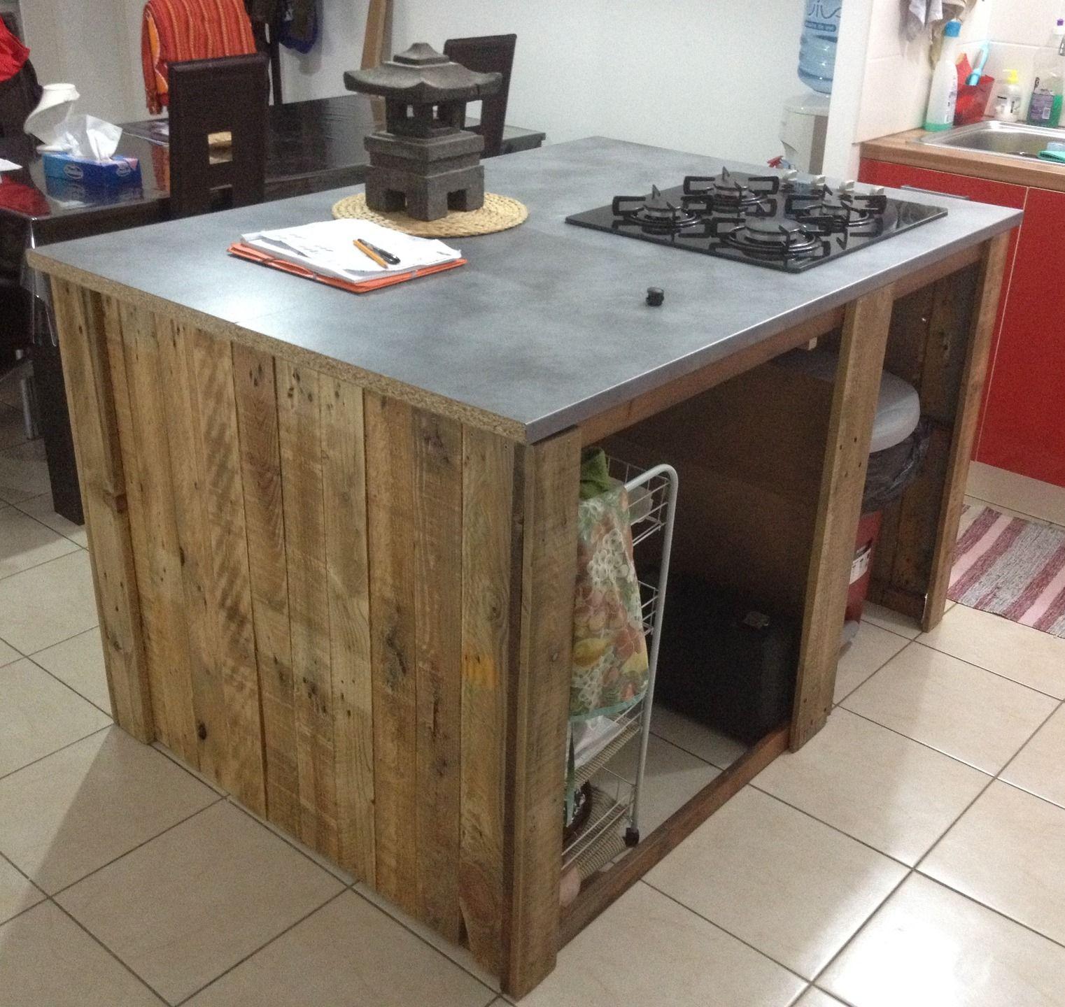 meuble cuisine ilot central sur mesure | cuisine, http://www ... - Table De Cuisine Sur Mesure