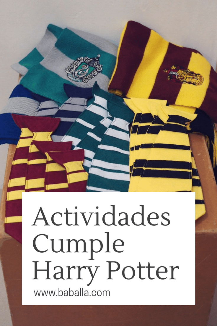 actividades cumpleaños harry potter   harry potter   pinterest