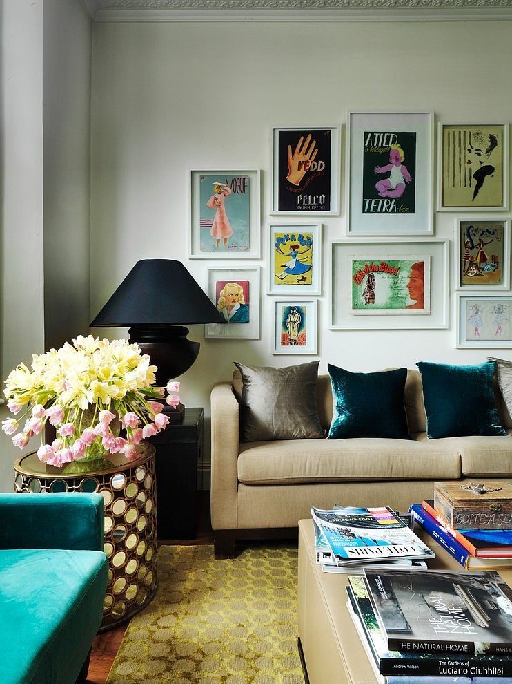 Townhouse Living Room Design: Fulham Townhouse By Juliette Byrne (With Images)