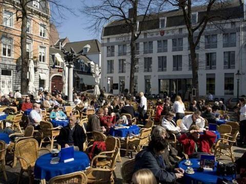 Maastricht - Centrum met terrassen