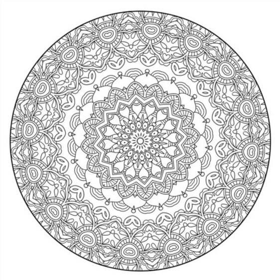 Pin On Mandala Coloring Pages
