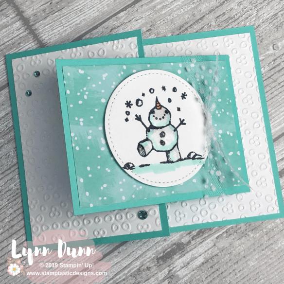 Lynn Dunn Let's get creative! Joy fold card, Christmas