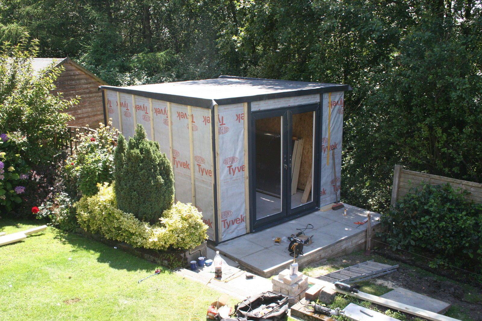 Insulated Garden Studio Office Room Self Build Sip Kit
