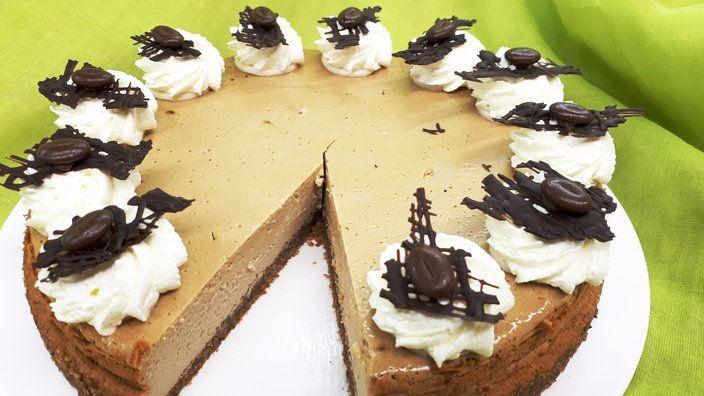 Espresso Kasekuchen Bildquelle Wdr Backen Pinterest Kuchen