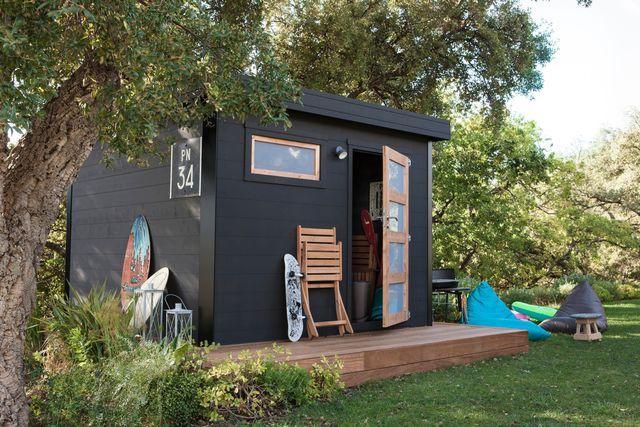 Abri de jardin bois, pvc, toit plat | tristani | Abri de ...