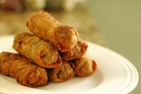 Good Thymes and Good Food: Chicken Egg Rolls