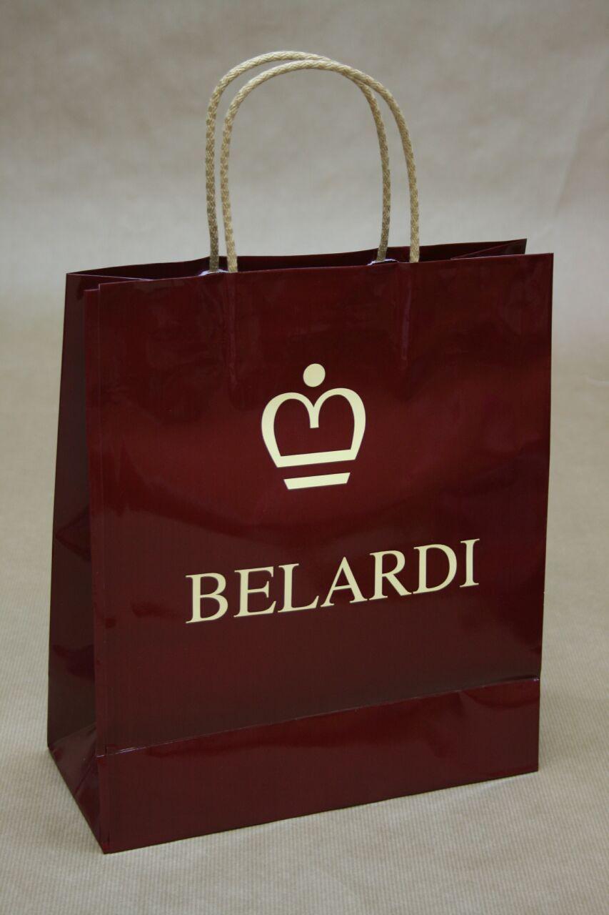 9485d3701 bolsa de papel con doblez superior en www.bolsapubli.es | Bolsas de ...