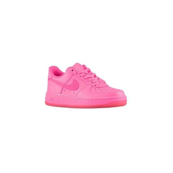 c4ef313123d2 Nike Air Force 1 Low  06 Girls  Grade School ( 75) ❤ liked on Polyvore  featuring shoes