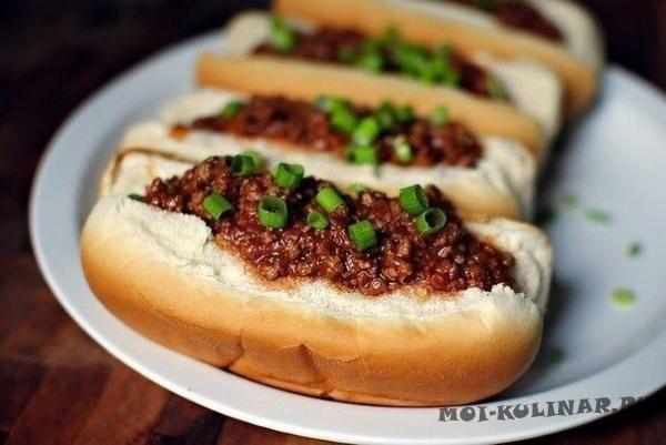 Картофельные сендвичи с сыром скаморца