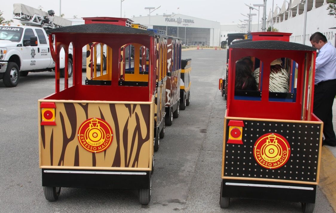 Trenes Infantiles Para Centros Comerciales Y Parques Infantiles