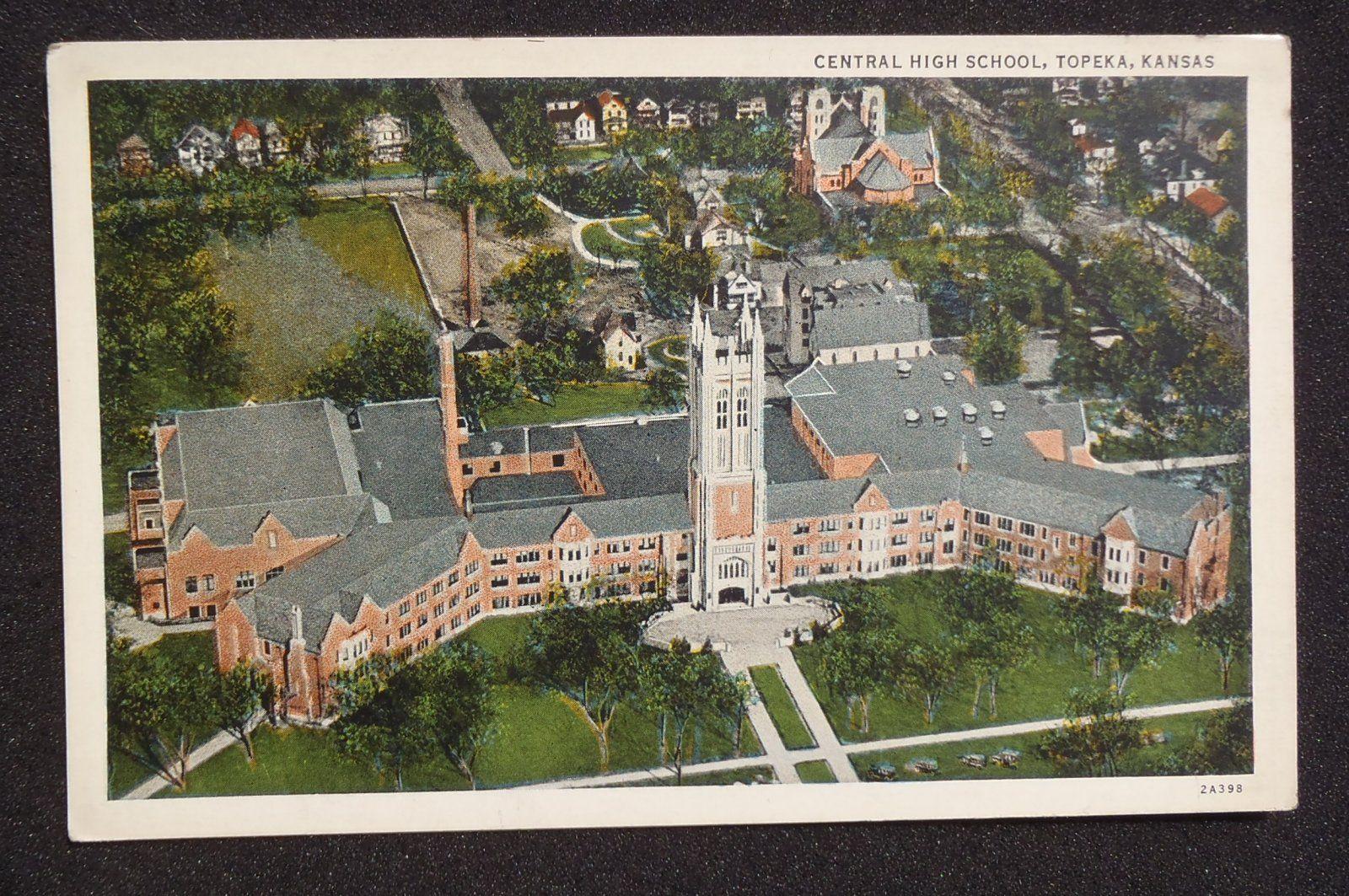 Details about Central High School ~ Topeka Kansas KS ...