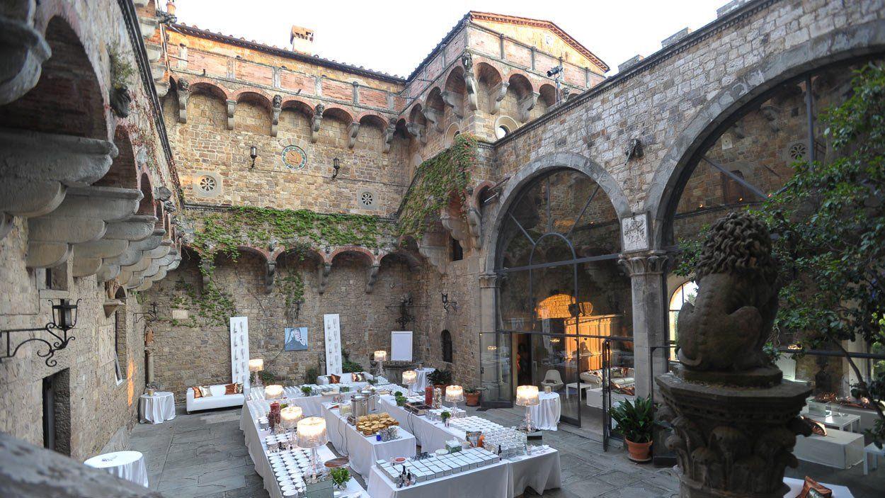 Photo about wedding venue Castello di Vincigliata