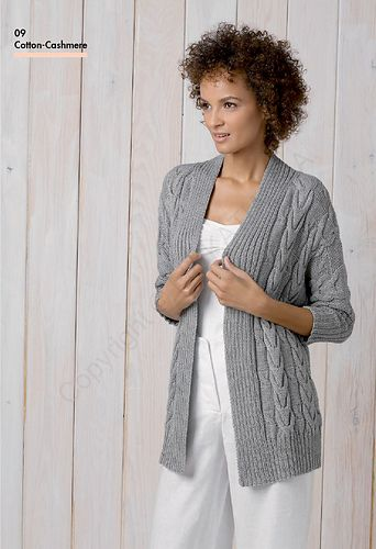 FREE pattern download via Ravelry~ 9 Long Cardigan by Equipo